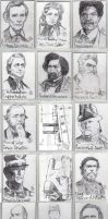Sketch Cards: Cult-Stuff's Civil  War Chronicles by JasonShoemaker