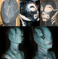 Hellboy - Abe Sapien making by Mechanic-Star