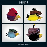 Angrybirds - Angry days by Sarqful