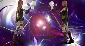 Serah and mog .2. by Selenaru96