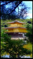 Kinkakuji: Golden Pavilion III by Wyatt-03