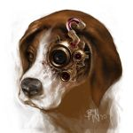 steampunk beagle by BennyKusnoto