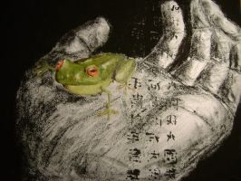 Frog by FROSTBYTE-BWM