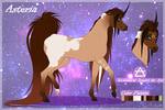 Asteria reference sheet 2016 by Rather-Be-Raving
