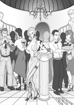 at the party by mala666italy