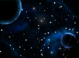 Blue Space by MKGraphics