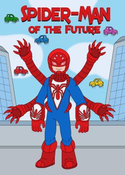 SpiderMan of the Futue by MCsaurus