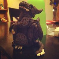 Baby clay Realistic Toothless by UglyDoll311