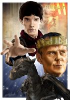 Merlin Poster by westleyjsmith