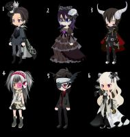 Doll Adoption #23: Darkness Set~ -Closed- by StarOtaku19