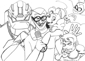 The Hub- Heroes All Together by BMLulu