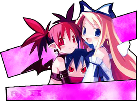 Girls Of Disgaea by DrAniHell