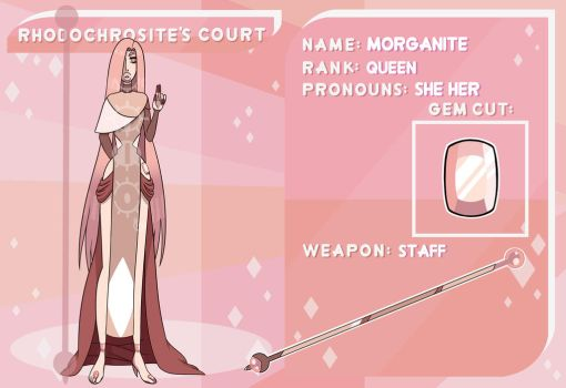 Rhodochrosites Court Application: Morganite by mojoromo