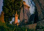 Graveyard night shot - the ouroboros stone by FFeLKat