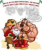 Xmas Zangief by The-Switcher