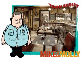 Mike Biggs - Mike and Molly by toonseries