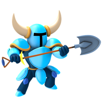 New Shovel Knight Render by Nibroc-Rock