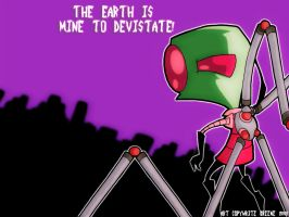 Zim Wallpaper by Invader-Candie