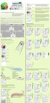 Easy Paint Tool SAI Tutorial The Basics part 2 by Empty-Frames