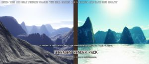Terragen Render pack by MightyArmenta