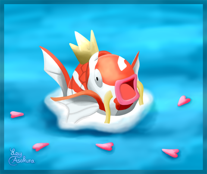 Magikarp Jump [Fan Art] by LeyAsakura