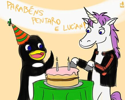 [Gift Art] Happy Birthday Pentaro and Lucian!! by Pentaro22