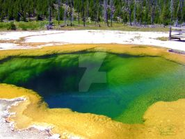 The Emerald Pool by MidknightStarr