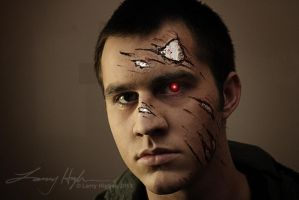 Terminator Makeup - Scott by maddartist83