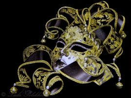 Venetian mask by slightlymadart