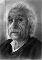 Albert Einstein by sauroneye89
