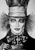 mad hatter. by katiebloo