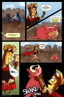PCBC: Battle 1 - Pg 13 by jiggly