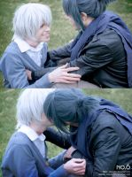 Playing, Shion and Nezumi Cosplay by Hadukoushi