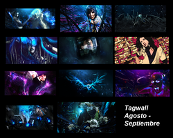 Tagwall Agosto - Septiembre by Rck9X6