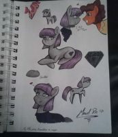 Maud Pie doodles by CartoonFreakshow