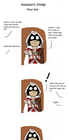 Assassin's Creep - Pimp Ezio by ArtisticDane
