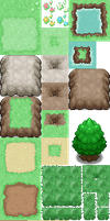 Tileset by EVoLiNa