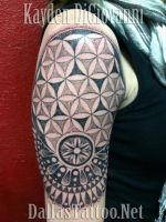 Dallas Tattoo Artist Kayden DiGiovanni Geometric by kayden7