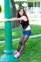 Tasha in pink shoes 05 by RaymondPrax