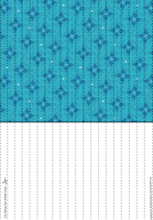 Blue Lucky Paper Stars paper by Heisotsu