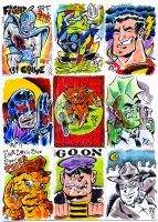 More Sketch cards by Peterlc