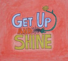 Get Up And Shine album cover by velvetylungs