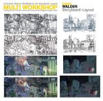 Mon stage, workshop, masterclass sur le layout by walderworld