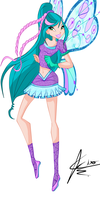 Winx: Fabia Believix by DragonShinyFlame