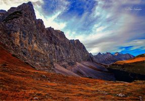 Autumn in Karwendel. by Phototubby