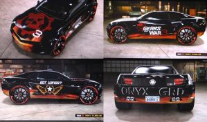 My Gears Of War 3 Car by Akeen7000