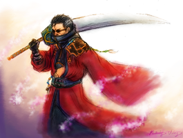 FFX: Auron by cold-nostalgia