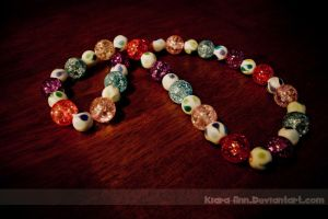 Glass Necklace by Kiara-Ann