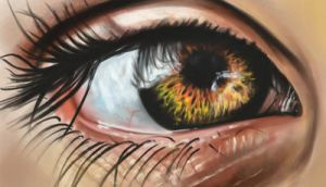 Eye Painting by Pananic