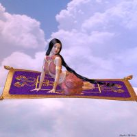 Magic Carpet Ride by merrygrannyde